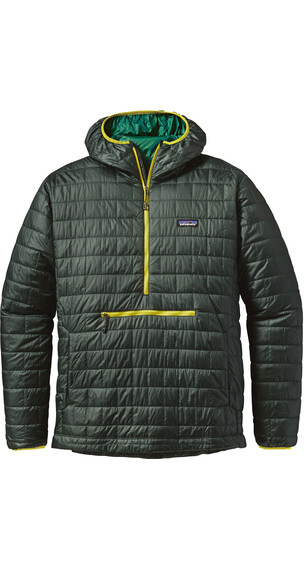 Patagonia M's Nano Puff Bivy Pullover Carbon